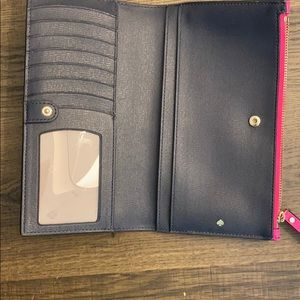 Kate spade wallet, just bought used twice. EUC